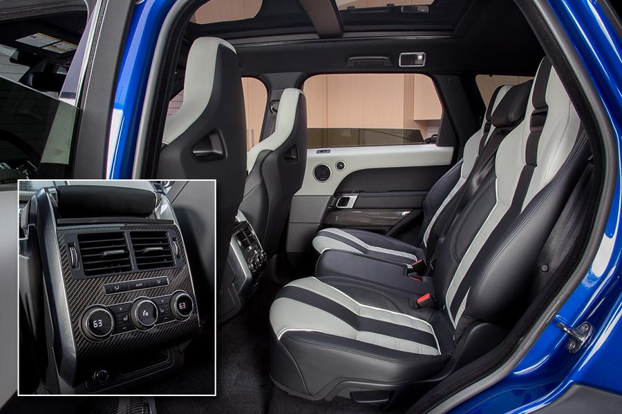سيارة لاند روفر رانج روفر سبورت 2015 - المقاعد الخلفية
