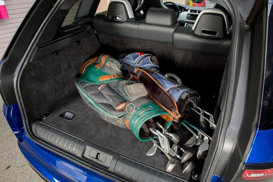 سيارة لاند روفر رانج روفر سبورت 2015 - الصندوق