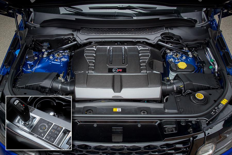 سيارة لاند روفر رانج روفر سبورت 2015 - المحرك