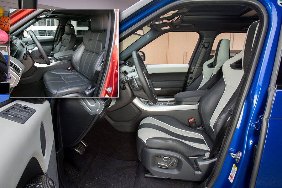 سيارة لاند روفر رانج روفر سبورت 2015 - المقاعد الأمامية