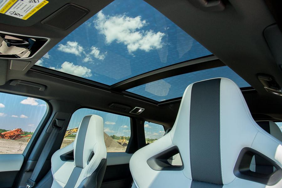 سيارة لاند روفر رانج روفر سبورت 2015 - سقف السيارة