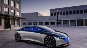 سيارة كهربائية لمرسيدس سبايد EQS