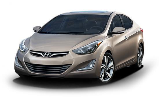 صورة نموذجية لسيارة هيونداي إلنترا Hyundai Elantra