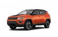 Jeep compass orange color