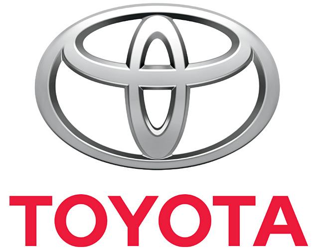 علامة شركة تويوتا للسيارات